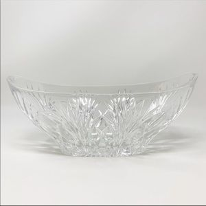 NEW Marquis Waterford Crystal Newberry Oval Bowl